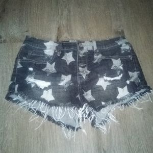 Mossimo distressed torn shorts